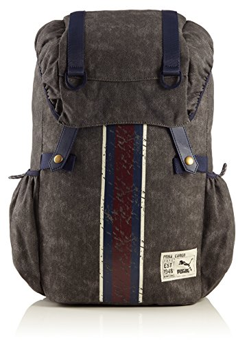 PUMA Rucksack Originals Backpack Canvas, Dark Shadow, 28 x 51 x 16 cm, 072776 01