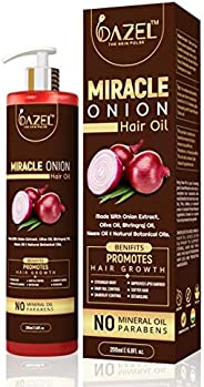 Dazel - The skin pulse Miracle Onion Hair Oil for Hair Growth (200Ml)
