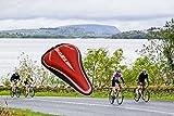 LIGHTER HOUSE MTB Mountain Road Bike Cushion Soft Cycling Lycra Nylon Gel Seat