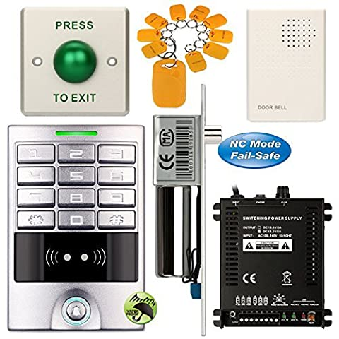 SOTER SECURITY® DIY Access Control Waterproof Keypad Office RFID Key