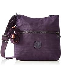 Kipling K12483 Damen Umhängetaschen 25.5x24.5x4 cm (B x H x T), Violett (79W Dazz Purple)