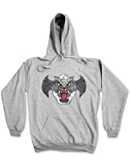 Urban Backwoods Airwolf Patch Hoodie Hooded Sweatshirt Sweater Sweat - Sizes S - 2XL