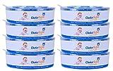ChoiceRefill pour le Système de Poubelle à Couches Angelcare (8 paquets)