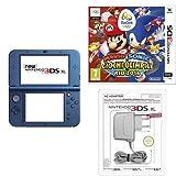 New Nintendo 3DS XL Blu + Mario & Sonic Ai Giochi Olimpici di Rio 2016 + Caricabatteria per Nintendo New 3DS/New 3DS XL/3DS XL/3DS/DSi/DSi XL