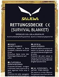 Salewa Rescue - Manta isotérmica, color dorado, talla única