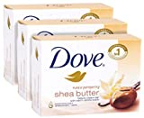 Dove shea butter bar 135g (pack of 3) im...