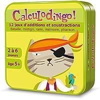 Aritma - CalculoDingo - Jeux de cartes, Calcul Additions, 5 ans