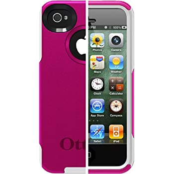 OtterBox Commuter Series Case for iPhone4/4S - Hot Pink /White