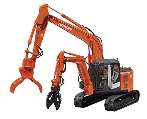 hasegawa-hsw04-135-scale-hitachi-double-arm-construction-machine-astaco-neo-plastic-model