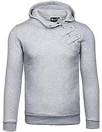 BOLF Herren Sweatshirt Hoodie Pullover Sweatjacke Kapuzenpullover MIX