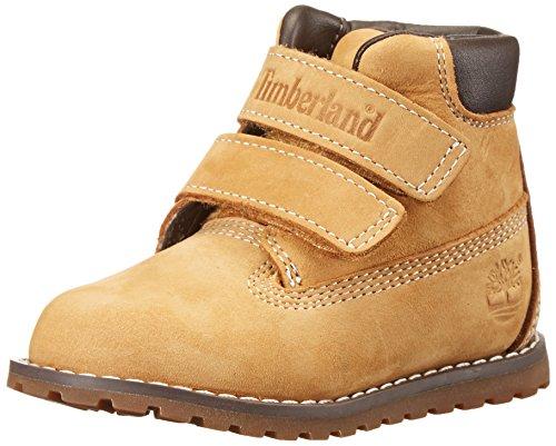Timberland Pokey Pine H L, Unisex-Kinder Kurzschaft Stiefel, Beige (Wheat), 21