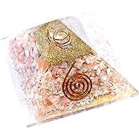 Pyramid Orgonite Sun stone 3-3.5 inch Gemstone Chakra Balancing Reiki Healing + 1 Rose Quartz Pointer Pendant preisvergleich bei billige-tabletten.eu