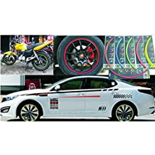 A menudo Motorking Llanta Pegatinas para Auto & Moto Llantas rayas anillos