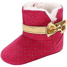 sandalias bebe niño deportivas bebe niña zapatos bebe el corte ingles ... ❤ Botas para la Nieve niñas Nudos de Piel, Baby Girl Boy Girl Botines
