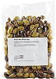 Greek Mix Oliven (vakuum) 1kg