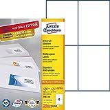 AVERY Zweckform 3483-200 Etiketten (A4, 800 Plus 80 Universal-Etiketten extra, 105 x 148 mm, 220 Blatt) weiß