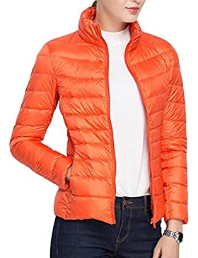 Laixing Buena Calidad Women's Packable Stand Collar Ultra Light Weight Short Down Jacket Women Coats