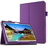 "YunTab 3G Tablet 10.1 Zoll/ACEPAD A101 (10.1"") TABLET PC Hülle Case, Infiland Slim Fit Folio PU-lederne dünne Kunstleder Schutzhülle Cover Tasche für 10.1"" Android Tablet-PC Inklusive 10.1"" Android Tablet-PC Inklusive XIDO X111, 10 Zoll Tablet Pc(25,7 cm), Artizlee 10 Zoll (10.1"") Tablet PC ATL-21L 1280x800, XIDO Z120/3G Tablet Pc 10 Zoll(Überprüfen Sie bitte die Details der kompatibelen Tablet-Modell-Liste in Produktbeschreibung)(Lila)"