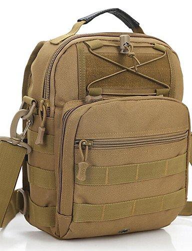 ZQ 25 L Rucksack Camping & Wandern Draußen Wasserdicht Grau / Khaki / Schwarz / Armeegrün / Tarnfarben Nylon jungle camouflage