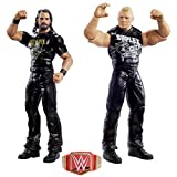 WWE GLB24 - Action Figuren 2er-Pack (15 cm) Seth Rollins & Brock Lesnar