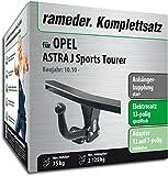 RAMEDER Komplettsatz, Anhängerkupplung starr + 13pol Elektrik für OPEL ASTRA J Sports Tourer (113270-09017-3)