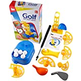 Homgrace Portable Mini Golf Trainer Automatic Dispenser Training Eye Reaction Ability