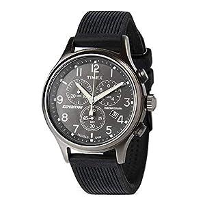 Timex T200419J – Reloj análogico de cuarzo con correa de cuero para