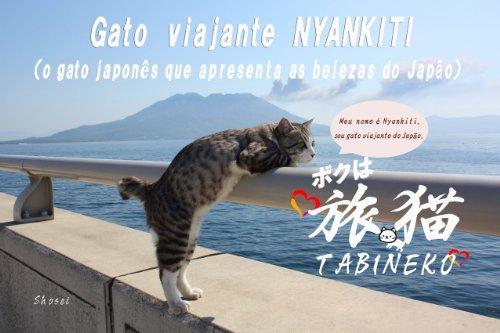 Gato viajante NYANKITI (Portuguese Edition)