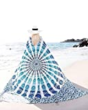 Rectangle Round Tapestry Chiffon Tablecloth Beach Towel Picnic - Best Reviews Guide
