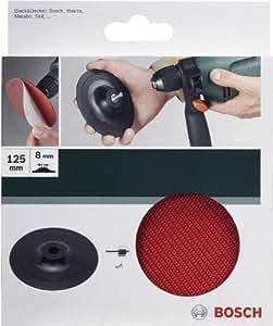 Bosch 2609256280 Plateau de ponçage pour Perceuse Système auto-agrippant 125 mm