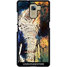 Funda para Huawei Honor 7 - Azteca Elefant Dibujo