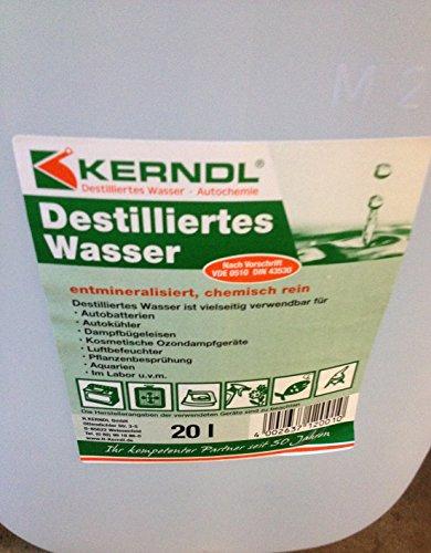 Kerndl Durch Umkehrosmose ist das Wasser demineralisiert