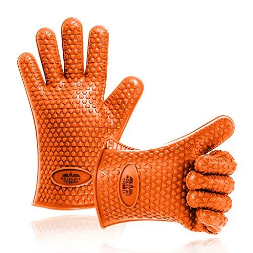 Molecule de silicona guantes para asar, hornear guantes 1 par, barbacoa...