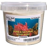Gelatina vegetal pura y natural Agar Agar (1 x 200 g)