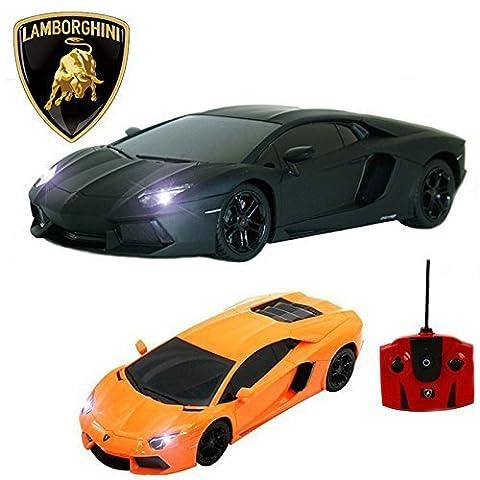 Comtechlogic Produit Officiel CM-2210 1:18 Lamborghini Aventador LP700-4 télécommandé RC Electric Car - prêt à courir EP RTR -