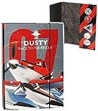 Unbekannt Heftordner / Ordner A4 -  Disney Planes - Flugzeuge Dusty  - für Hefte, Zett..