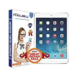#3: Cellbell Premium Apple ipad Air 1 / 2 / Apple Ipad Pro 9.7(Clear) Tempered Glass Screen Protector (Comes with Warranty,User guide,Complimentary Prep cloth)-Bronze Edition