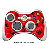 Manette Xbox 360 Peaux Jeux Xbox 360 Vinyle Autocollants Xbox 360 D¡§?calcomanies - Digicamo Red