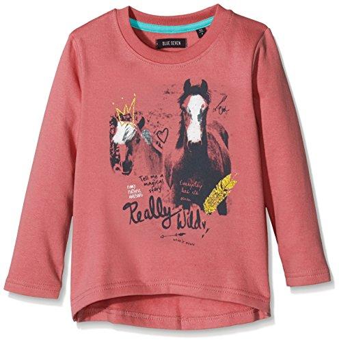 blue seven Mädchen Sweatshirt Pferde Motiv 764523 (110, Rapture (Rosa)) (Baby Pferd Jumper)