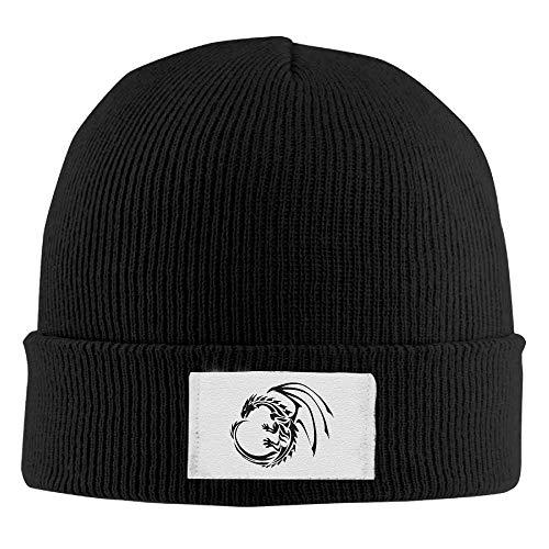 Haloxa Erwachsenen Furz Laden elastische Strickmütze Winter im Freien warme Schädel Hüte Sommer