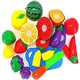 tongshi 1 set di taglio di verdure della frutta Pretend Gioca bambini del capretto giocattolo educativo