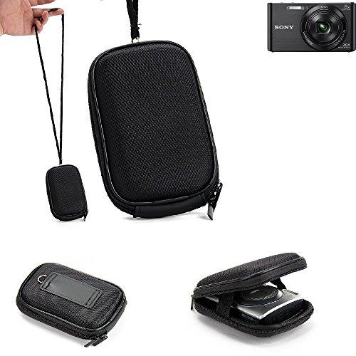 Per Sony Cyber-shot DSC-W830 Custodia rigida borsa per fotocamera compatta Kit Eva Trasporto viaggio resistente agli urti, impermeabile per Sony Cyber-shot DSC-W830 | scossa leggera EVA protettiva -