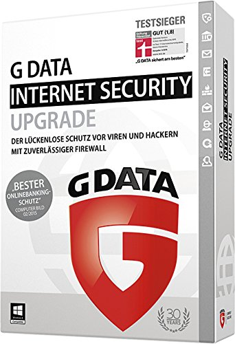 G Data Internet Security Upgrade - 3 PCs / 1 Jahr
