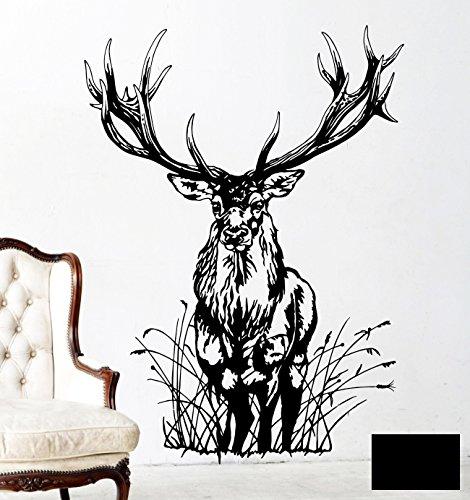 -adesivo-da-parete-cervo-wild-capriolo-maschio-bosco-animale-capriolo-m1713-nero-l-71cm-breit-x-100c