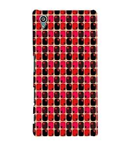 EPICCASE heart blocks Mobile Back Case Cover For Sony Xperia Z5 Premium / Z5 Plus (Designer Case)