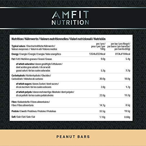 Amfit Nutrition Protein-Riegel 12er Pack (12 x 60g) - 2
