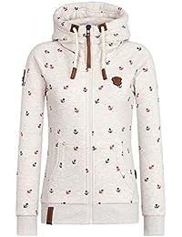 Naketano Female Zipped Jacket Preiselbeeren Camembert III