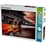 VW Golf 1 Turbogockel 1000 Teile Puzzle quer: Der Legendäre Golf1 Racer mit 1000+ PS (CALVENDO Mobilitaet)
