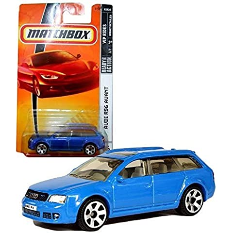 Matchbox Year 2007 MBX VIP Luxury Series 1:64 Scale Die Cast Metal Car # 36 - Light Blue Station Wagon Audi RS6 Avant by