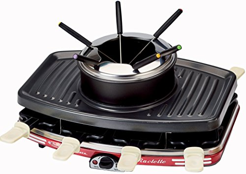 Ariete 793 Raclette Fondue Party Time